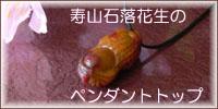 寿山石落花生のペンダントトップ